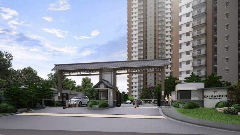 Kai Garden Residences Grand Entrance
