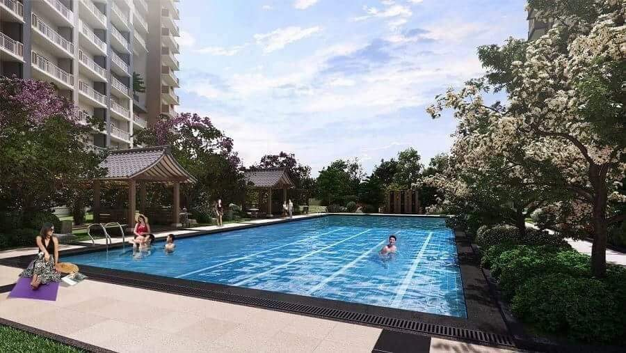 Kai Garden Residences Lap Pool