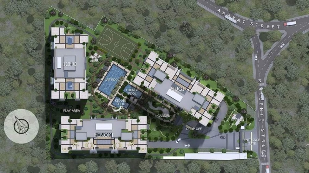 Kai Garden Residences Site Development Plan